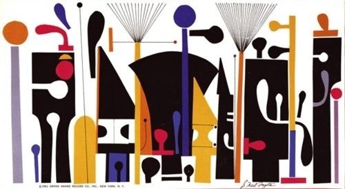 Mid-Century Modern Graphic Design #design #graphic