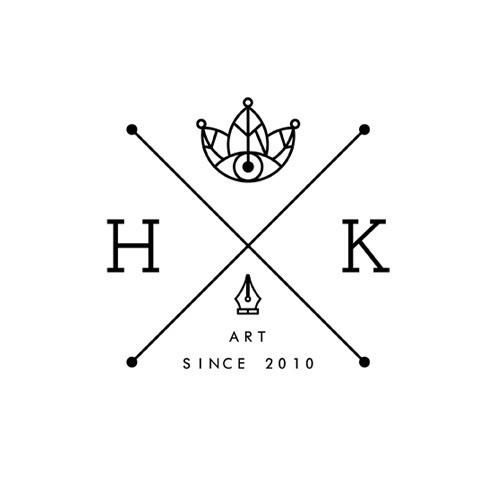 All sizes | HK - V.01 | Flickr - Photo Sharing! #crown #leaf #heitorkim #design #heitor #kimura #art #logo