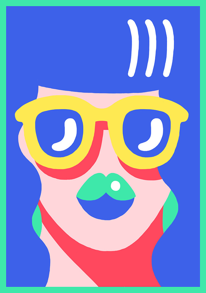 Vibrant and bold work from French illustrator Marylou Faure #illustration