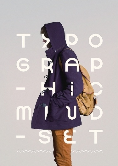 TYPOGRAPHIC MINDSET #purple #typography