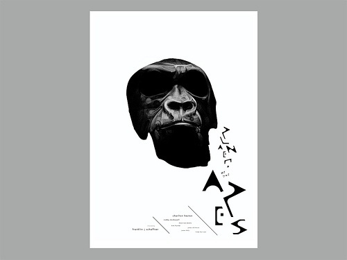 Toutes les tailles | Giclee Print_Planet Of The Apes | Flickr : partage de photos ! #white #black #keepsmesane #poster #and