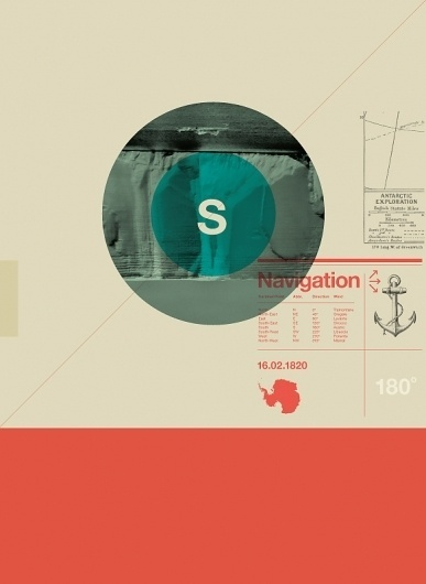 Astronaut #anchor #navigation #typography