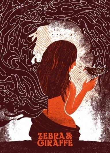 Design Work Life » Dustin Holmes: Gig Posters #silkscreen #branding #print #screen #illustration #poster #music