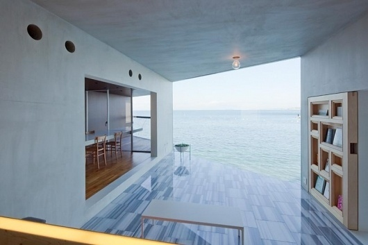 yasutaka yoshimura architects: nowhere but sajima #ocean #architecture