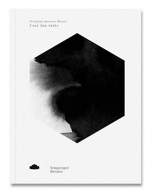 Balla Dora Typo-Grafika: Susannste Fanizen, Coverentwürfe Programmbuchreihe #white #design #graphic #black #and
