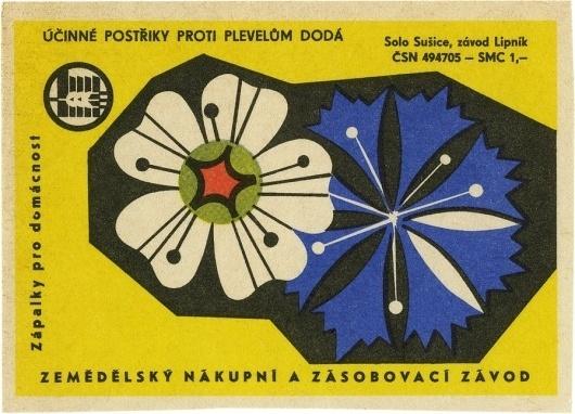 All sizes | Účinné postřiky proti plevelům dodá | Flickr - Photo Sharing! #design #postcards #vintage