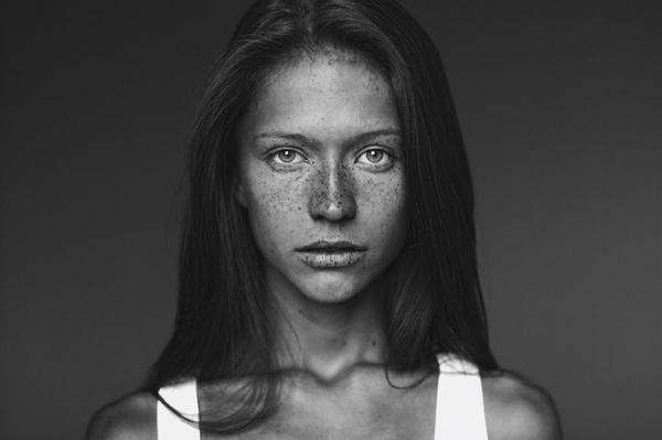 Mariya Radkovskaya #model #woman #girl #photo #freckles #people #hair #women #photography #fashion #face #beauty