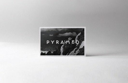 Business Cards - Pyramid Studio #business #black #studio #pyramid #cards