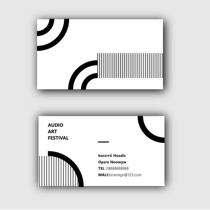 Wayfinding | Signage | Sign | Design | 极简线条名片
