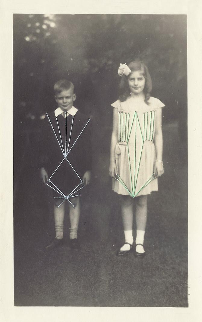 Threading - sallie harrison #thread #photo #pattern