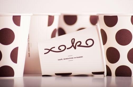 Nikolaj Kledzik – Art Direction & Graphic Design – Xoko – Visual Identity #coffee #logo #cup