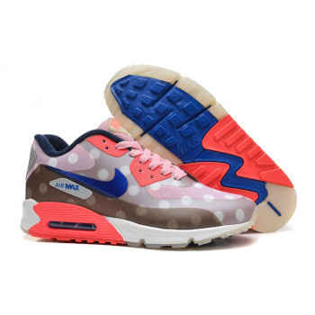 Nike Air Max 90 Womens Hyp Prm Pot Yellow Blue Orange Hot