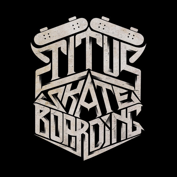#font #skateboard #blackandwhite
