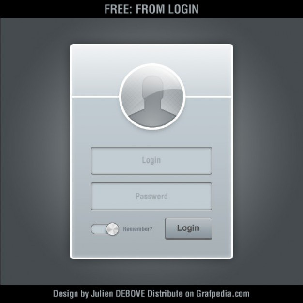 Gray login form psd Free Psd. See more inspiration related to Design, Box, Window, User, Gray, Form, Psd, Login, Simple, Material, Interface, Registration, Password, User interface, Interface design, Concise and Landed on Freepik.
