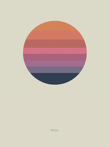 """Awake Album Poster """"Sun"""" (Lithograph) #lithograph #poster"""