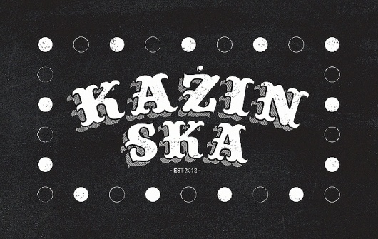 Blog of London based freelance graphic designer Michael Azzopardi #malta #logotype #azzopardi #ska #music #kazin #kazinska #michael