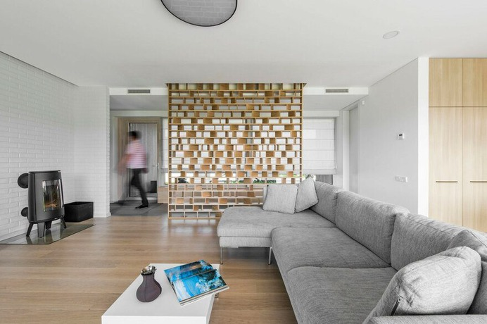 living room / PAO Architects