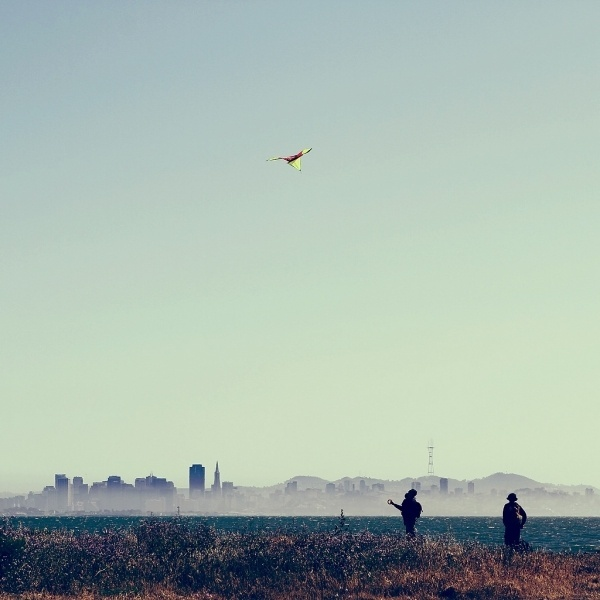 All sizes | Flying Kite in San Francisco | Flickr - Photo Sharing! #san #4x4 #photography #francisco #green