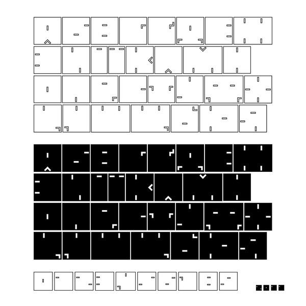 "Font ""Avantgarde"" #font #olga #composition #avantgarde #geometric #tereshchenko #typography"