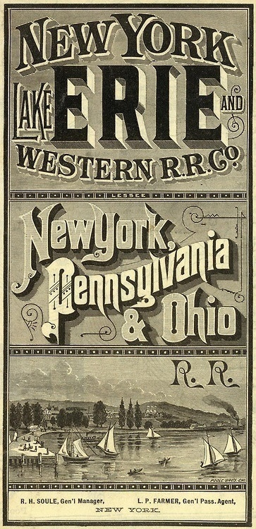 typeverything.com, David Rumsey Map Collectionvia King George #type #lettering #vintage