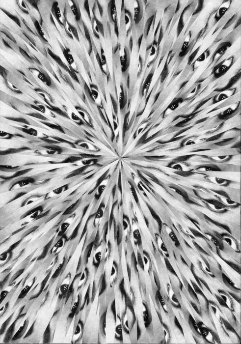 Designersgotoheaven.com Lola Dupre #eyes #abstract #collage #art