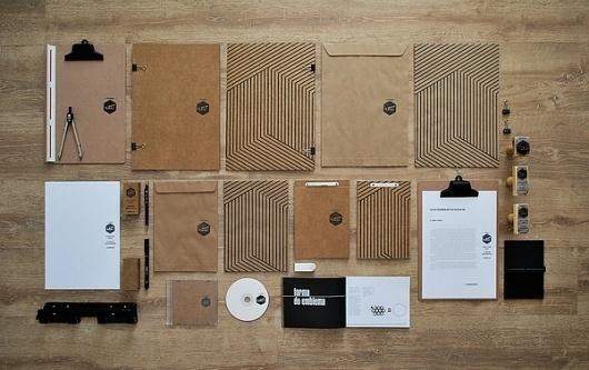 Identidade Visual para o Estúdio Vii on the Behance Network #recycled #identity