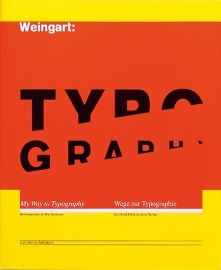 Typography — Lars Müller Publishers #muller #lars #book #cover #artwork #publishers #typography