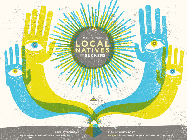 GigPosters.com - Local Natives - Suckers