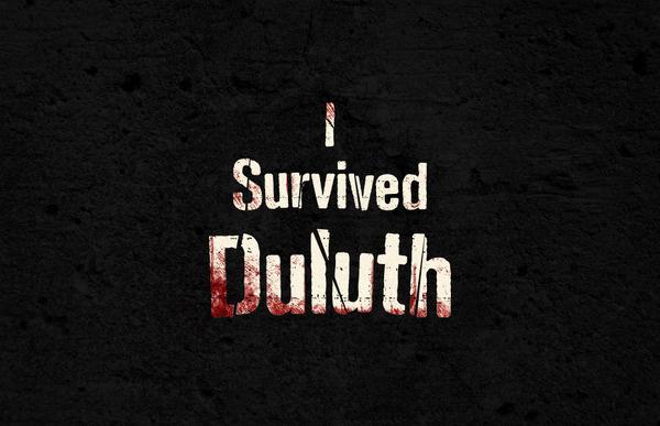 Survive Duluth — Cody Paulson #graphics #illustration #typograhy #texture