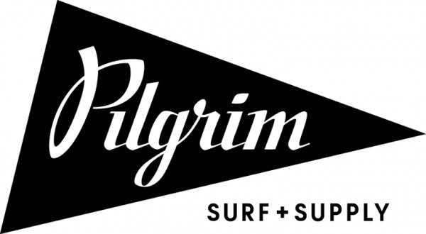 Pilgrim Surf + Supply #white #surf #pilgrim #black #triangle #and #logo #brooklyn