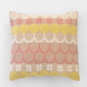 Karen Barbé | Textileria — Woven CUSHION col.2 #textile