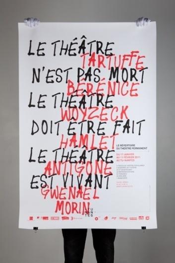 Raffinerie (Tu Nantes Théâtre Permanent (Akatre)) #design #graphic #poster