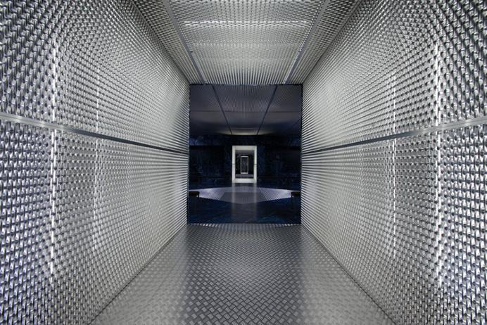 AMO infinite catwalk for Prada