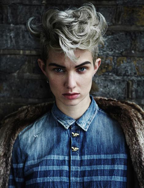 Harmony Boucher by Toby Knott for Hunger Magazine #fashion #model #photography #girl
