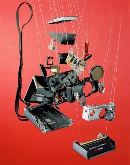 Separations : Ben Innes #deconstruction #installation #camera #polaroid #photography #diy