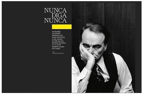 Murdoch | Flickr - Photo Sharing! #thick #rule #spread #portrait #man #magazine