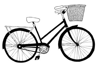 Louise Evans Illustration #illustration #bike