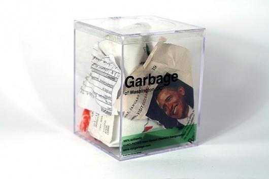 Obama's Inauguration Garbage • 2 | Flickr: Intercambio de fotos #conceptual #sustainability #art #trash #garbage