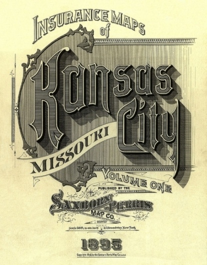 Tumblr #kansas #lettering #city #maps #typography