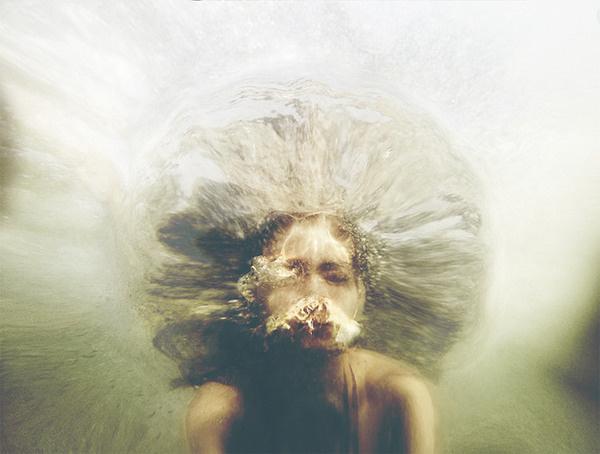 Extraordinary Conceptual Portraits by Christine Muraton My Modern Metropolis #photo #face #underwater
