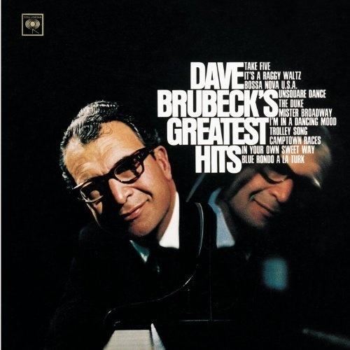 Dave Brubeck #bluenote #60s #vintage #albumcover #typography #layout #music