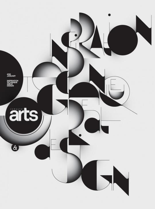 Typography by Áron Jancsó #computer #arts #black #typography