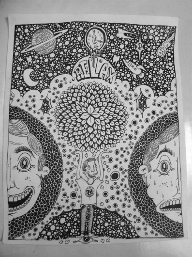 BILLHAUS #kalen #design #poster #blackburn #drawing
