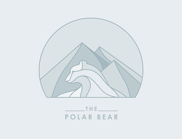 Ayaka Beautiful EP by Alberto Seveso #logo #polar #bear