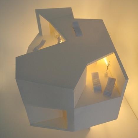Dezeen » Blog Archive » Casa Lude by Grupo Aranea #houses #solid #void #architecture