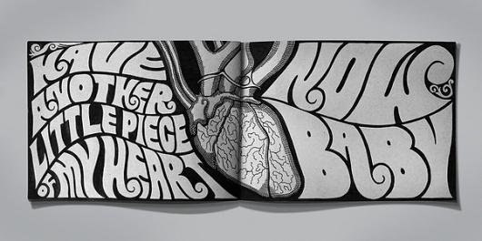 ab5358ddba206ed042e423157d85b396 #illustration #funky #typography