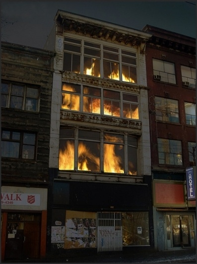 Welcome. #as #fire #art #installation