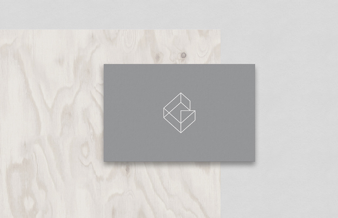 KG Design branding corporate identity beautiful minimal designer mindsparkle mag business card grey deluxe luxury simple clean minimal stati