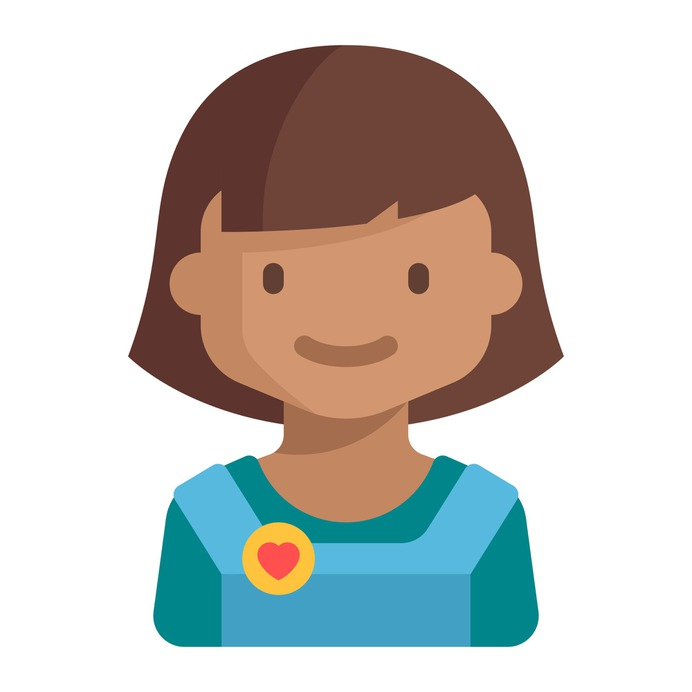 See more icon inspiration related to girl, child, young, avatar, people, kid, user and profile on Flaticon.