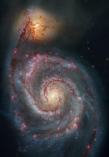 Revisiting the Whirlpool | Bad Astronomy | Discover Magazine #robert #hubble #space #photography #m51 #galaxy #gendler